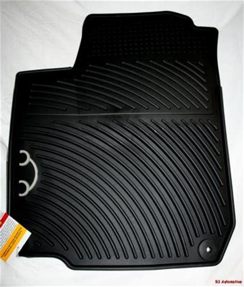 2001 vw new beetle oem rubber floor mats ebay