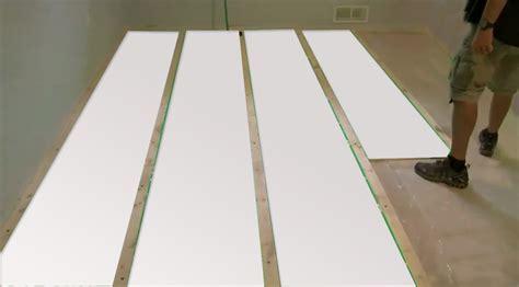 Photo Tutorial: Insulating Basement Floor With PlastiSpan