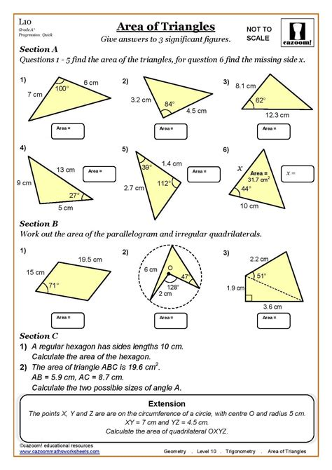 shapes worksheets ks3 wonderful printable maths worksheets ks3 photos