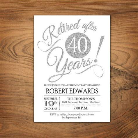 retirement invitation best 25 retirement invitations ideas only on