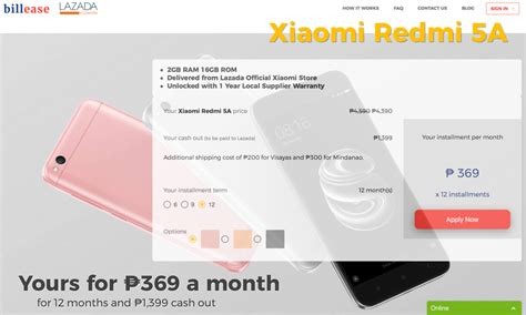 Xiaomi Redmi 3s3pro Custom Ph get the xiaomi redmi 5a for as low as php369 per month noypigeeks