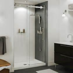halo shower doors maax 174 halo 44 1 2 quot 47 quot sliding 2 panel shower door
