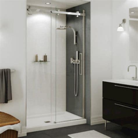 halo shower door maax 174 halo 44 1 2 quot 47 quot sliding 2 panel shower door