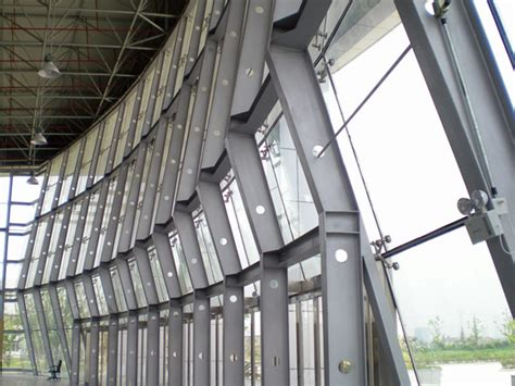 steel curtain wall curtain wall system types functions advantages