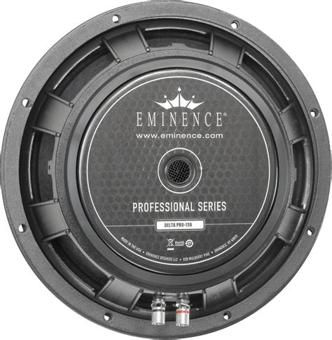 Speaker Eminence 12 speaker eminence 174 pro 12 quot delta pro 12a 400w antique electronic supply