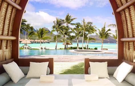 bora bora four seasons rooms four seasons resort bora bora 171 luxury hotels travelplusstyle