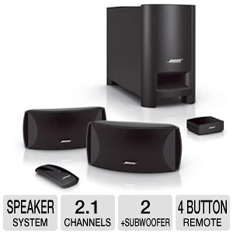 bose 174 cinemate 174 series ii digital home theater speaker
