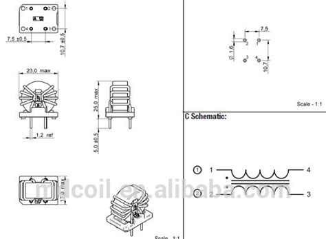 inductor saturation tutorial common mode inductor saturation 28 images common mode choke saturation current 28 images