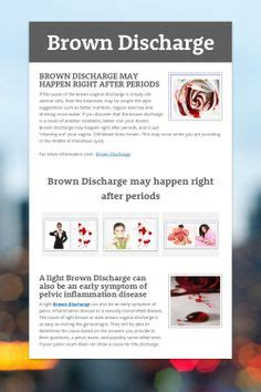 brown colored discharge pin by brown discharge on brown discharge common concerns
