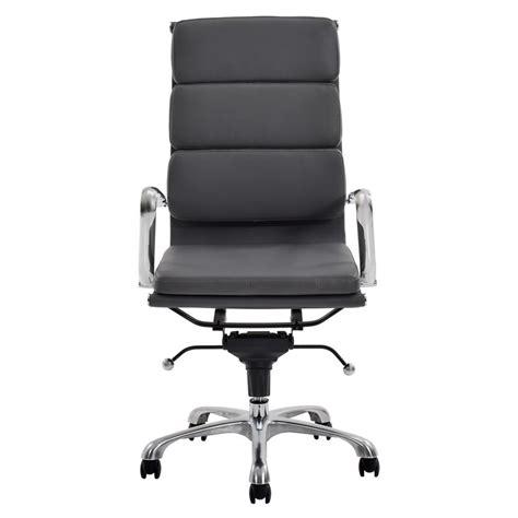 el dorado office furniture marconi gray high back desk chair el dorado furniture