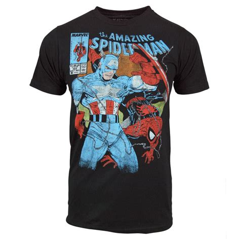 T Shirt New Captain America 05 new comic book t shirts at honcho sfx hide your arms