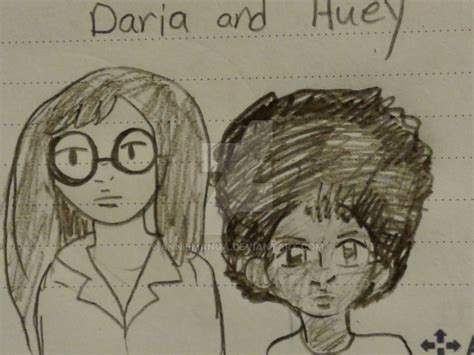 quot drive quot fan art the mam 252 vies agenda book doodle daria and huey by anniemanga on deviantart