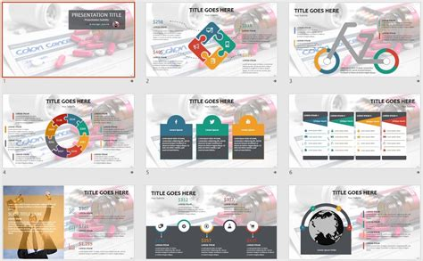 cancer powerpoint templates free free colon cancer powerpoint template 2532