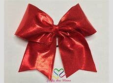 Mystique Cheer Style Bows Clip On Tie Sizes