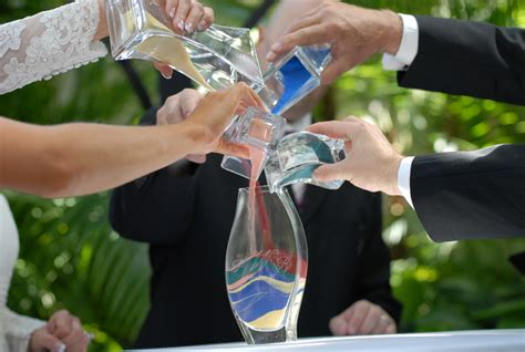 wedding traditions sand pouring ceremony wedding officiant columbus ohio united marriage services