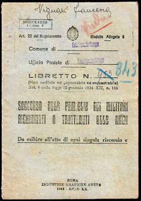 ufficio di collocamento trieste storia postale italiana