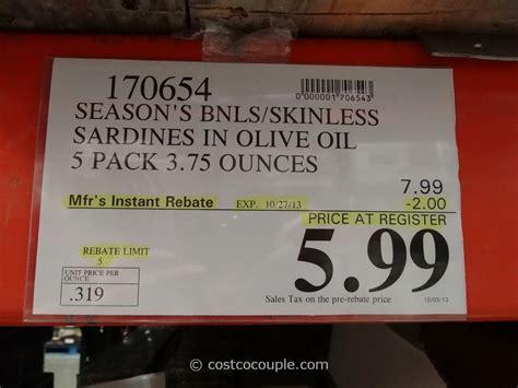 season brand sardines  olive oil