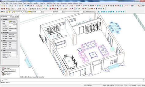 Create A House Plan progecad architecture progesoft