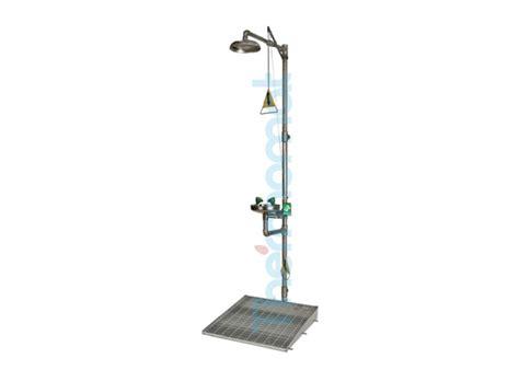 doccia lavaocchi doccia di emergenza combinata con lavaocchi per montaggio
