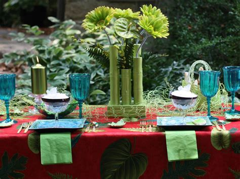 cool backyard party ideas sizzling themes for an outdoor summer party hgtv