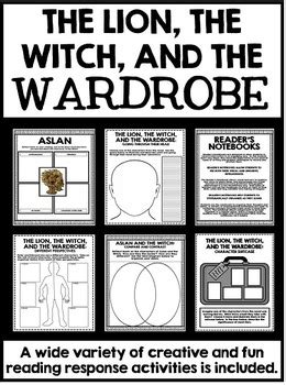Witch And Wardrobe Study Guide by The Witch And The Wardrobe Novel Study Unit With Questions And Activities