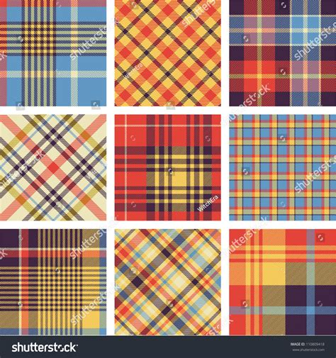plaid pattern en espanol plaid patterns stock vector illustration 110809418
