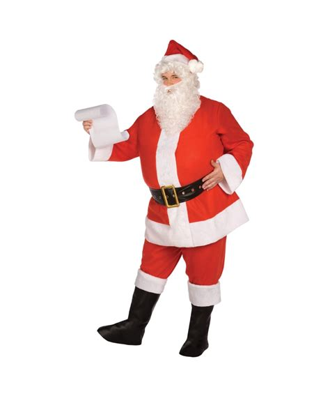 adult santa suit plus size christmas costume santa costumes