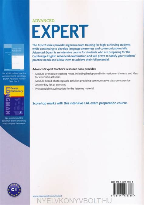 expert advanced 3rd edition 1447961986 advanced expert teacher s resource book third edition with 2015 exam specifications