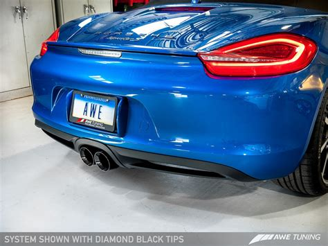 Porsche Boxster S Performance by Introducing The Awe Tuning Porsche Boxster S Cayman S