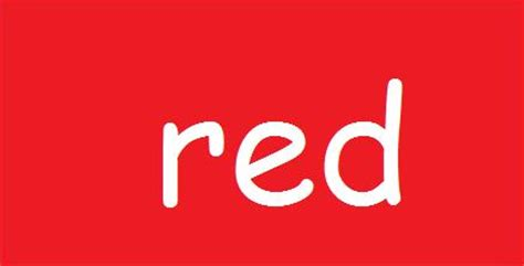 other words for red quia color word match up