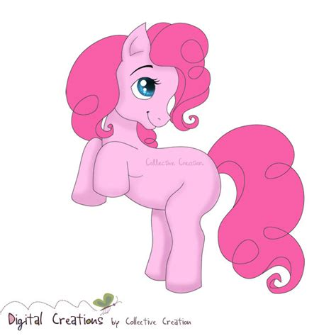Pink Pony pink pony digital clipart great for by collectivecreation