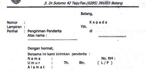 contoh surat dokter atau surat keterangan sakit dari