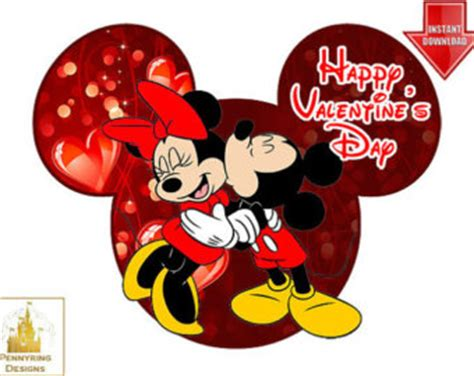 valentines mickey mouse popular items for iron on on etsy