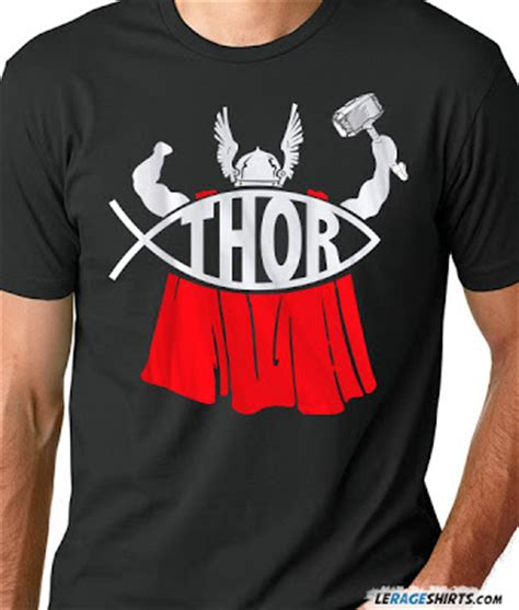 T Shirt Kaos Thor Rage le rage news thor t shirt released by lerage shirts