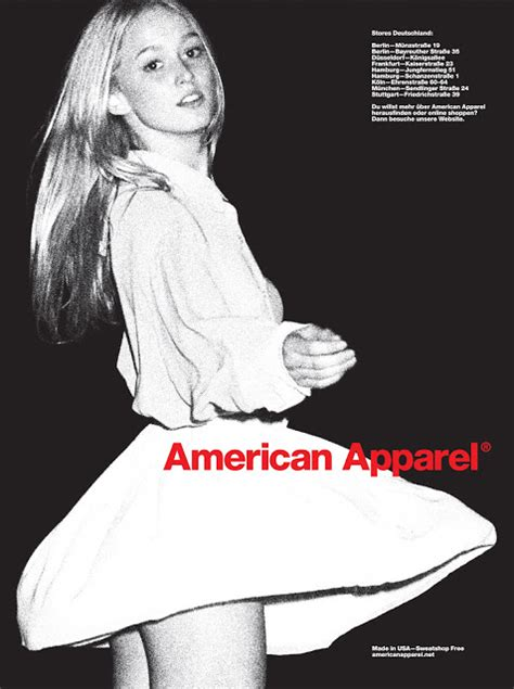 american apparel banned ads fashion is vogue american apparel