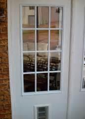 exterior door with built in pet door pet ready xpd75