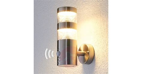 outdoor wall lights with sensor led outdoor wall light lanea with motion sensor lights co uk
