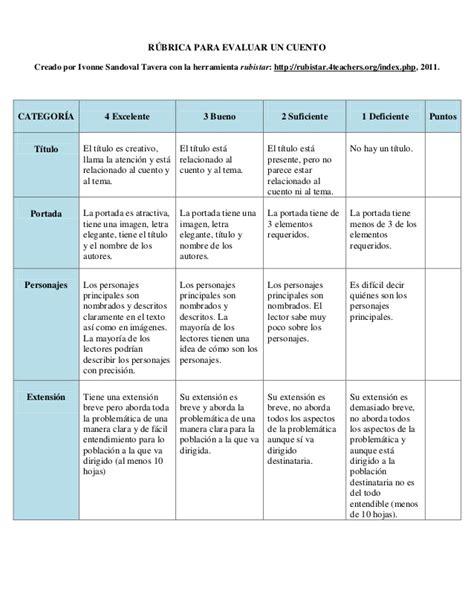 preguntas historia oral 8 r 250 brica para evaluar un cuento