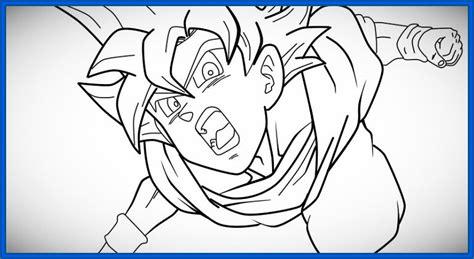 Imagenes De Goku A Color Para Dibujar | fabulosas im 225 genes de goku para dibujar dibujos de