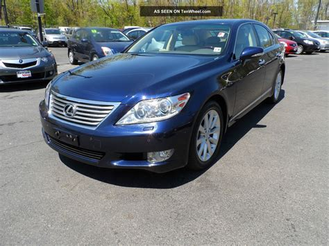 tan lexus 2011 lexus ls460 blue tan loaded serviced 1