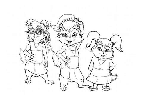 ausmalbilder fuer kinder alvin und die chipmunks