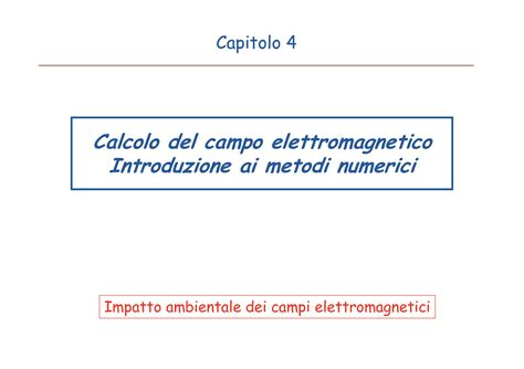 ci elettromagnetici dispense ci elettromagnetici normativa dispense
