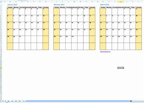 8 Excel Quarterly Calendar Template Exceltemplates Exceltemplates Quarterly Calendar Template Excel