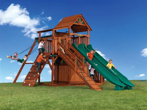 backyard adventures backyard adventures titan treehouse 3 outdoor playsets