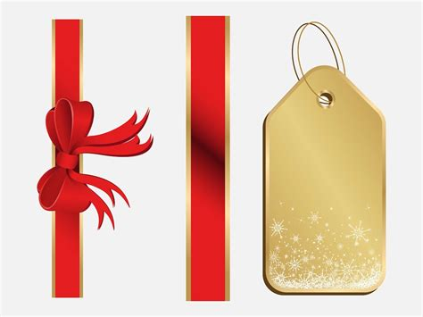christmas present decorations vector art graphics