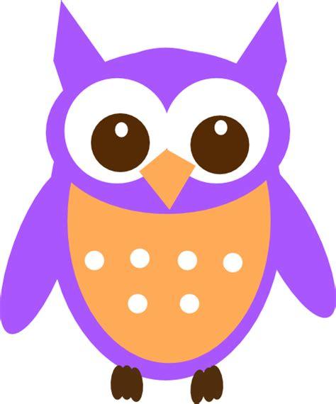 Owl Purple purple owl clipart clipart panda free clipart images