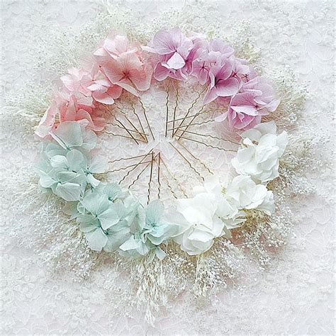 Wedding Hair Accessories Fresh Flowers by 3pc Preserved Fresh Flower Hair Pins Hair Clip Flowers