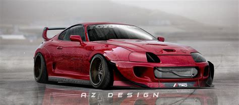 rocket bunny supra toyota supra rocket bunny by azdesign1 on deviantart