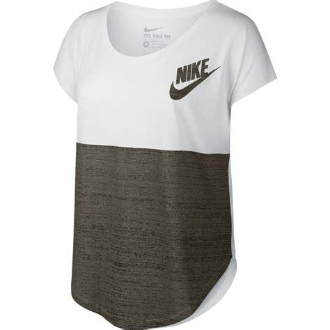 Tshirt Nike 7 camiseta nike blanca signal color mujer 715335 100