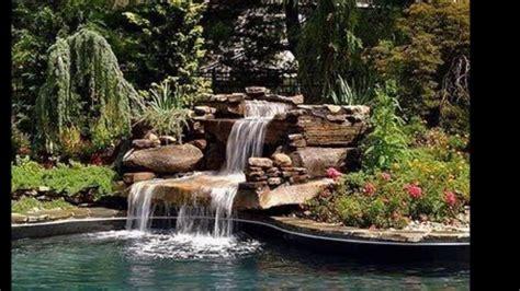 imagenes de jardines y cascadas decoracion de jardines con fuentes estanques y cascadas